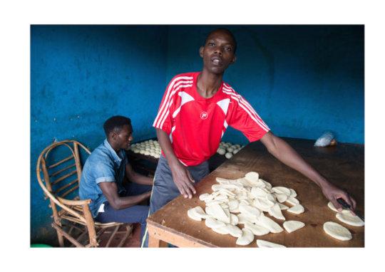 Mandazi is also called Swahili Bun or Donut