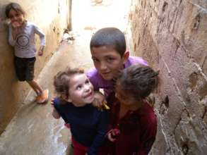 Children playing in Lebanon