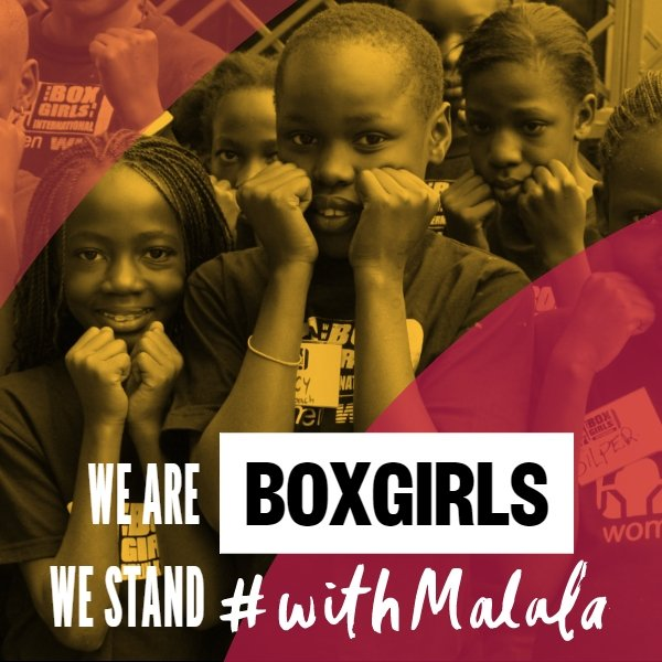 Boxgirls Stand With Malala
