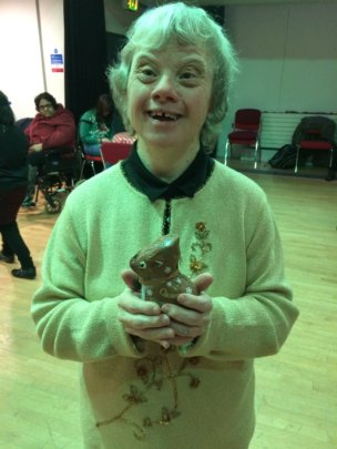 Maria wins dance competition at VALUES Xmas party