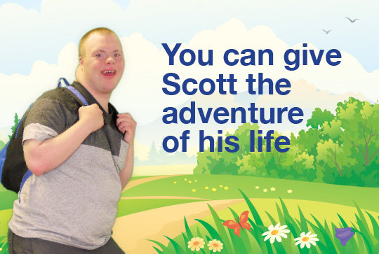 Send Scott on the adventure of his life