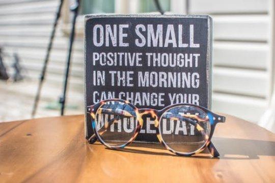 A little positivity goes a long way