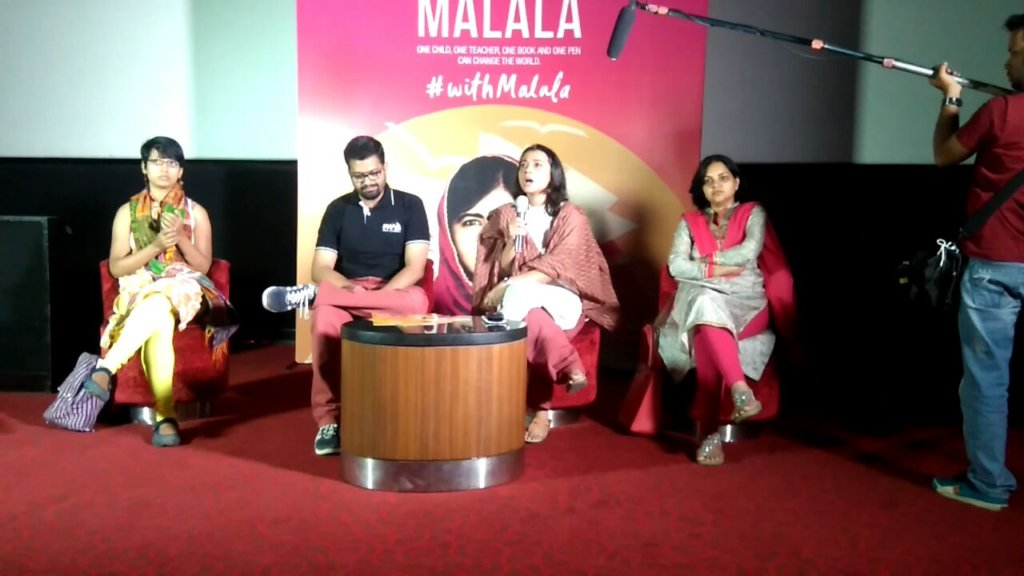 20,000 Students Stand #withMalala In India