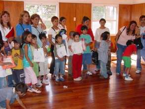 Activities for mothers and deaf children