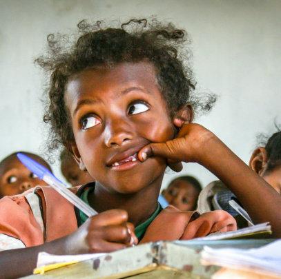 Donkey library for 1000 rural Ethiopian children
