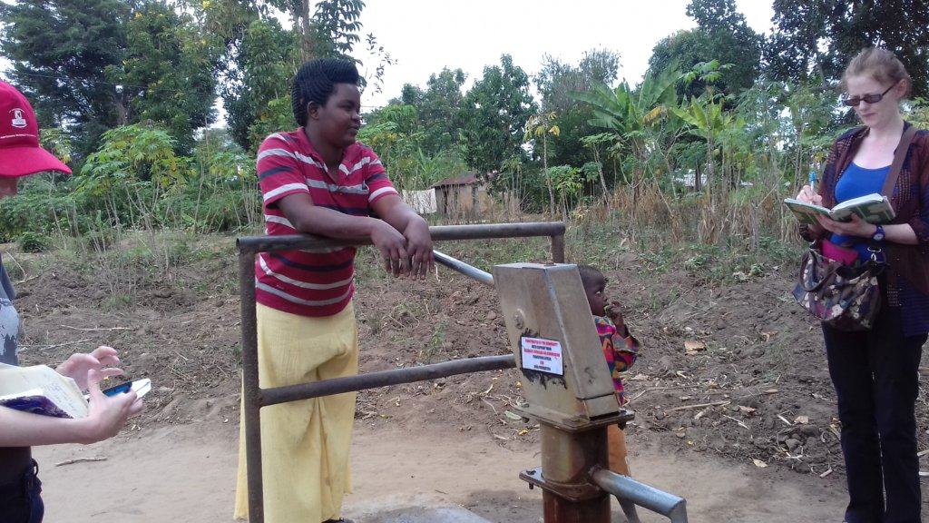 The borehole that is now in use been inspected by