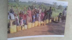 2 Community members benefitting from the Borehole