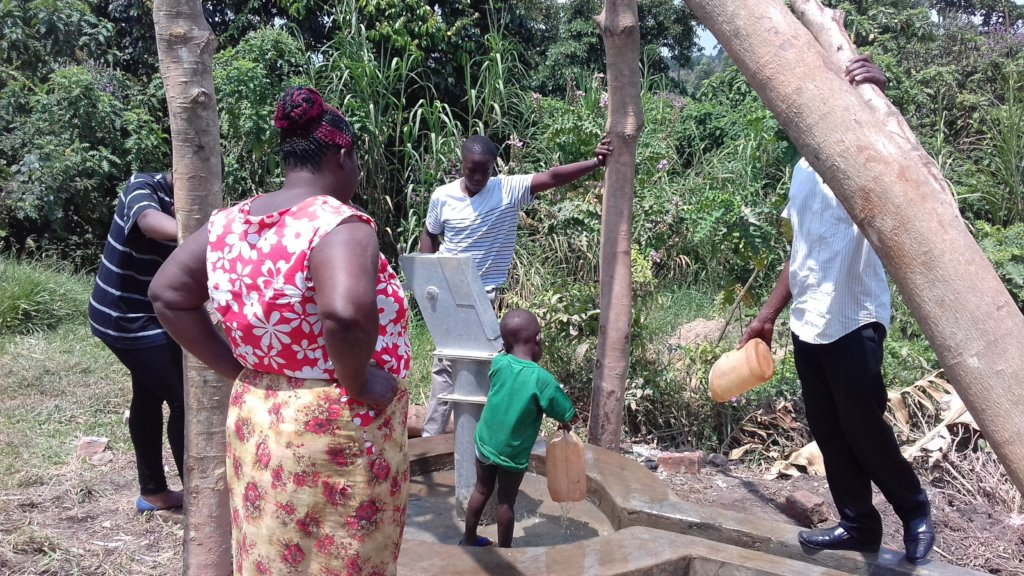 Safe clean water for 6,000 people in rural Uganda