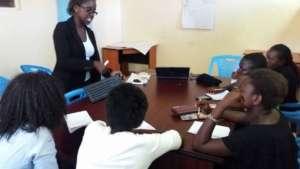 Training on introduction to basic computer skills