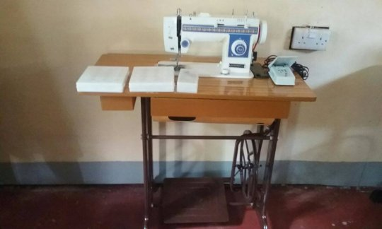 New tailoring machines bought for GEC trainings