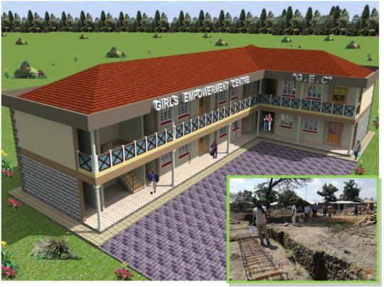 NIGEE Girls' Empowerment Centre under construction