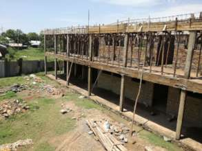 The New GEC site under construction.