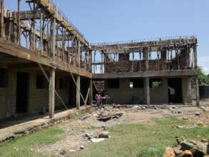 The 1st Floor walling and formwork at the GEC site