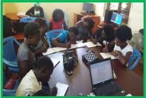 NIGEE beneficiaries during a computer classes
