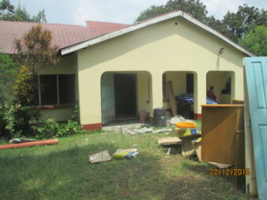 Photo1: Renovation in progress at the GEC new site