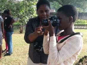 Girl-Led media training