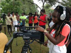Girl-Led media training