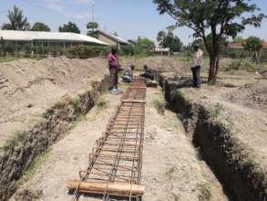The GEC under construction