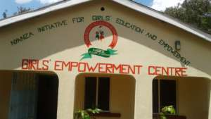The Outer view of the Girls empowerment centre