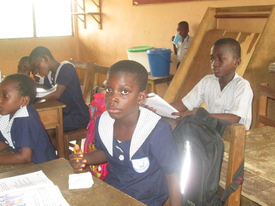 Back to school, poor Sara needs your help, Ghana