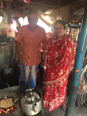 Kakoli and her tea shop