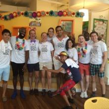 Pride Volunteers and Friends