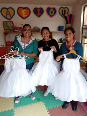 Dresses Handmade by Students