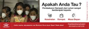 Sample of banner to inform burning consequences (PDF)
