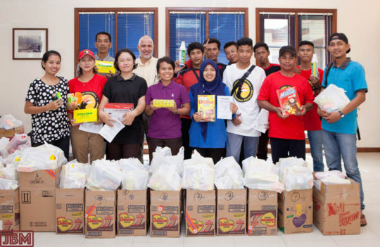 The hard working YUM team in Central Kalimantan