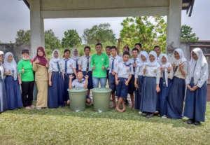 Tree planting at school