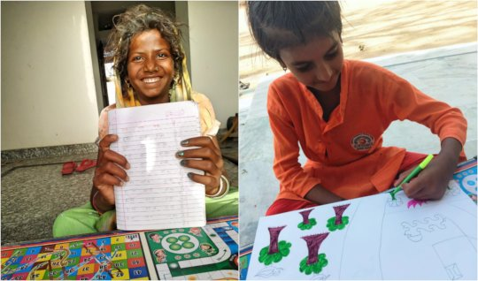 Educating Girl Child with Pathshala !!