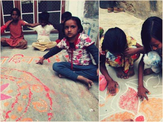 kids celebrate ''children day''