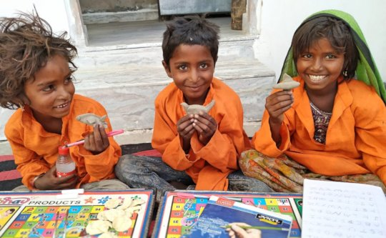 Educating Girl Child with CraftS !!