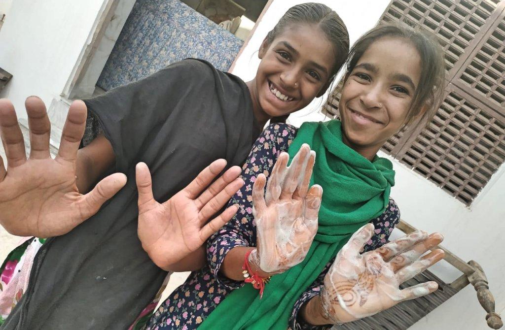 Hygiene Awareness Camp in Pathsala !