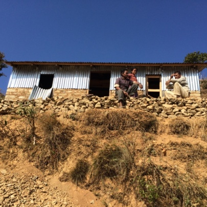 New 'temporary permanent' dwelling in Kavre