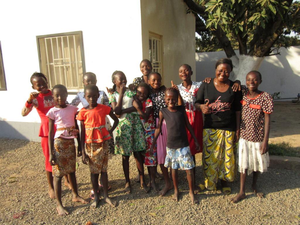 project photo for Provide a Loving Home for Street Girls in DR Congo