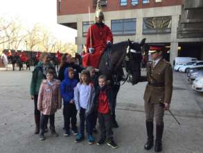 Visit to the Household Cavalry