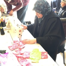 Sewing class in Tyre