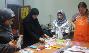 Local sewing teacher can now train other women!