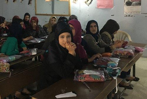 Washable Feminine Hygiene for Syrian Refugees