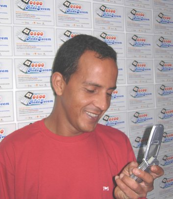 Mobile Rede Jovem: SMS for social change in Brazil
