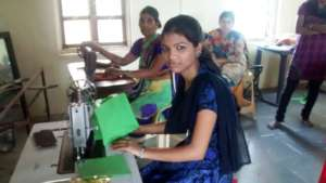 women being trained at 2nd Skill Dvlpt Center
