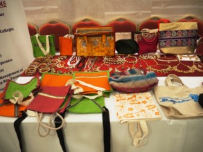 Products made by marginalzed women in our center