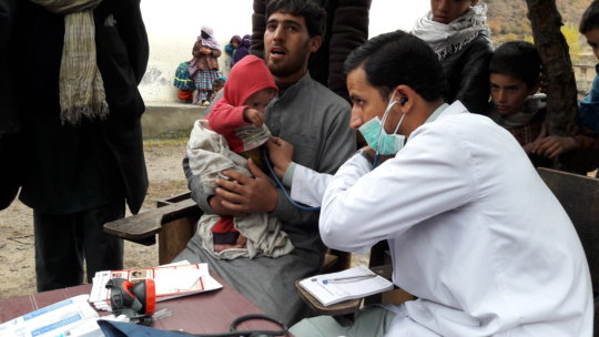 Health consultation in Afghanistan by Abdul Mateen