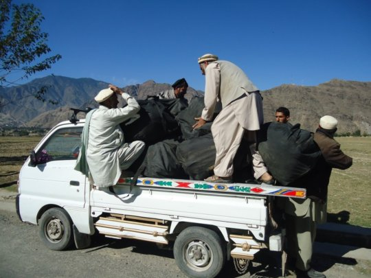 Teams deliver supplies to villages in Afghanistan
