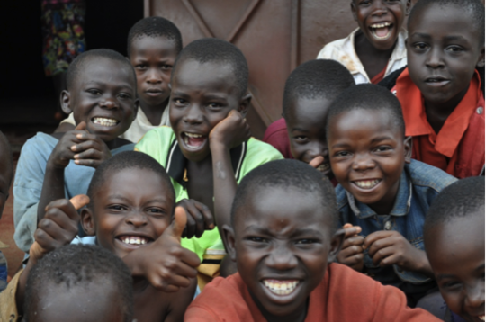 Smiling in Uganda