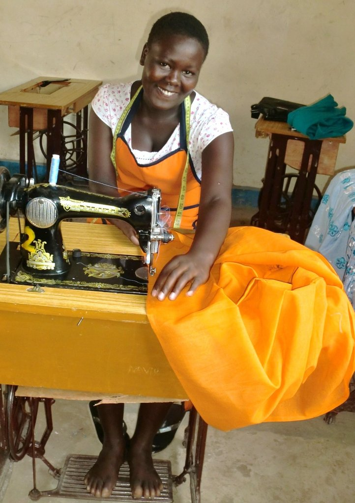 Kissa learning tailoring skills