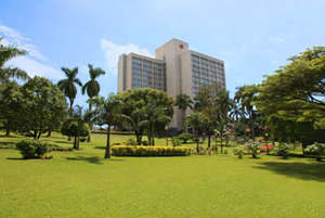 David's employer, the Sheraton in Kampala