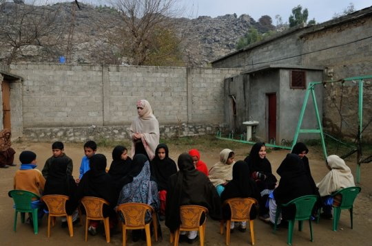 Disaster Preparedness Training in KP Province