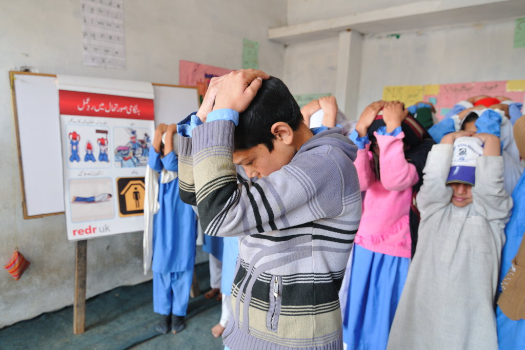 Help children prepare for disasters in Pakistan